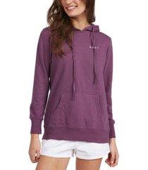 roxy juniors' graphic-print hooded sweatshirt