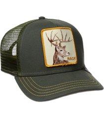 gorra verde goorin bros rack