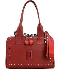 bolso rojo leblu baúl