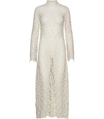 rodebjer ode lace maxi dress galajurk crème rodebjer