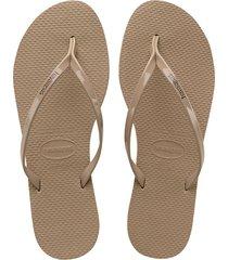 sandalias havaianas slim metallic
