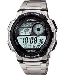 ae-1000wd-1av reloj casio 100% original digital aluminio  garantizados