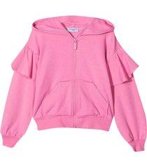 monnalisa pink hoodie