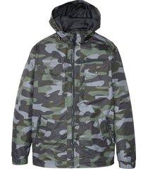 giacca tecnica con tasche (grigio) - rainbow