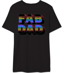 fab dad men's graphic t-shirt