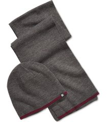 block hats men's reversible beanie & scarf set