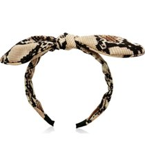8 other reasons shayla snake skin headband