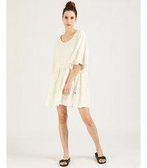 vestido natural wanama fairy cotton