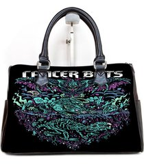 cancer bats cover album custom barrel type handbag