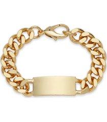 men's nordstrom id curb chain bracelet