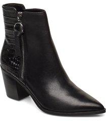 arolia shoes boots ankle boots ankle boot - heel svart aldo