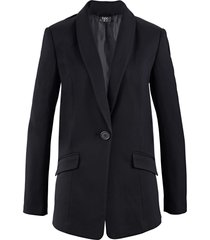 blazer ampio a manica lunga (nero) - bpc bonprix collection