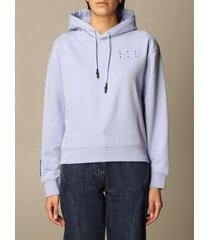 mcq alexander mcqueen mcq sweatshirt ic-0 mcq hoodie in cotton with logo