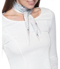 giani bernini geo-print kite scarf