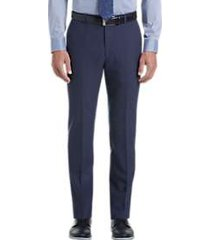 joe joseph abboud medium blue slim fit dress pants