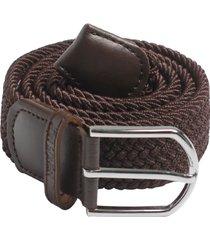 cinturón brown  trenzado jon sonen