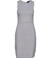 nellie tubular dress knälång klänning multi/mönstrad lexington clothing
