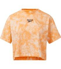 topp classics cloud-dye cropped t-shirt