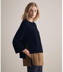 maglia poncho superior cashmere