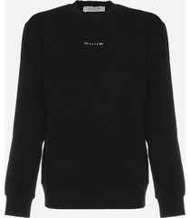 1017 alyx 9sm sweatshirt with logo print on the back