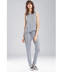 josie heather tees tank hoodie, women's, grey, size xs natori
