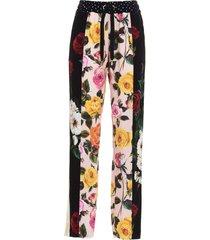 dolce & gabbana patchwork pants
