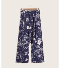 pantalon estampado
