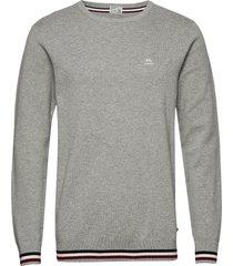 signature knit sweat-shirt trui grijs lindbergh