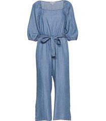 vincacr jumpsuit jumpsuit blå cream