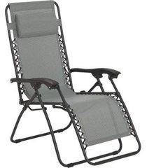 cadeira espreguiçadeira pelegrin pel-001z gravidade zero em tela mesh