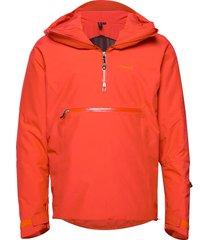 stranda ins hybrid anorak outerwear sport jackets röd bergans