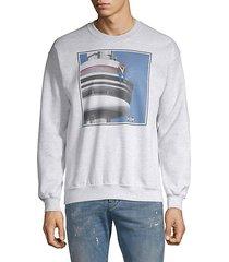 space needle bear graphic sweatshirt