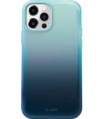laut huex fade iphone 12/12 pro case - blue