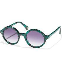 emerald east village round sunglasses