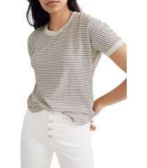 women's madewell hemp & cotton blend relaxed drapey tee