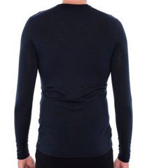 blusa segunda pele térmica essential merino crew solo masculina