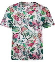 camiseta estampada over fame jardim russo - kanui