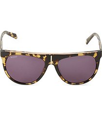 57mm aviator sunglasses