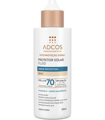 protetor solar adcos fluid shield protection beige