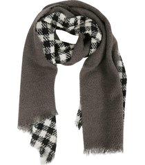 destin surl checked scarf