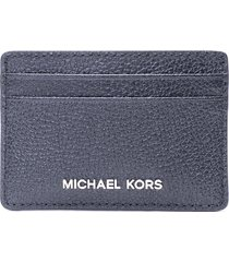 michael kors jet set leather card holder