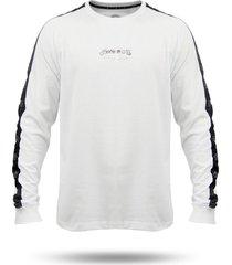 camiseta alot manga longa fresh