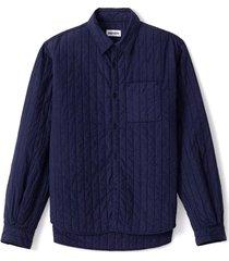 kenzo gewatteerde shirt