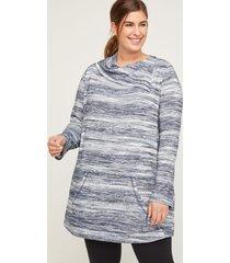 comfysoft stormy stripe tunic