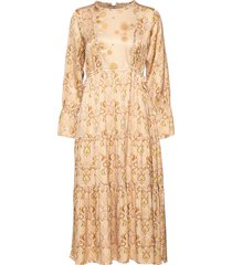 my kind of beautiful dress jurk knielengte beige odd molly