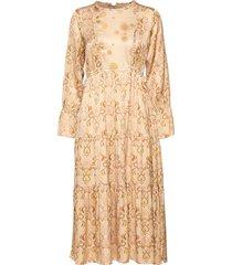 my kind of beautiful dress jurk knielengte beige odd molly