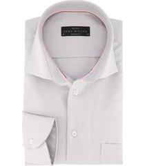 john miller overhemd grijs modern fit