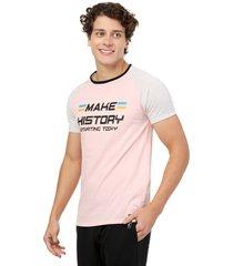 camiseta  combinada rosa manpotsherd croacia
