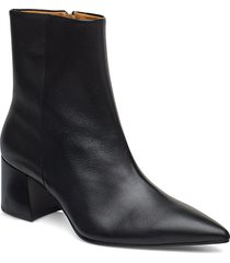 siran shoes boots ankle boots ankle boots with heel svart tiger of sweden