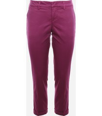 fay chino trousers in stretch cotton